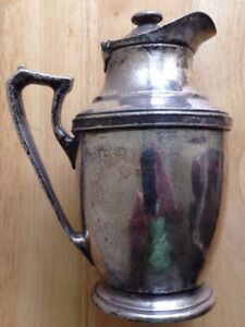 1930s 1940s THE NEW YORKER HOTEL COFFEE POT URN, NEW YORK, ART DECO, VINTAGE