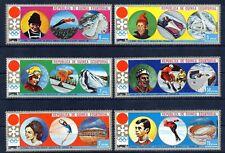 Republica de Guinea Ecuatorial  año 1972   deportes Sapporo  sellos  nueva