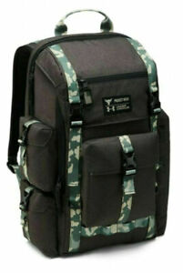 Under Armour PROJECT ROCK REGIMENT RANGE BACKPACK 1315435-001 NWT  grey & camo