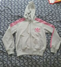 Ladies Adidas Grey & pink Jacket 14-16