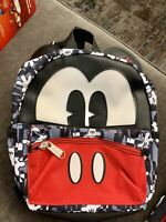 Disney Mickey Mouse Mini Back Pack With Ears