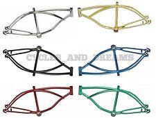 "Original Lowrider 20"" Frame 6 Colors  Beach Cruiser Chopper Cycling"