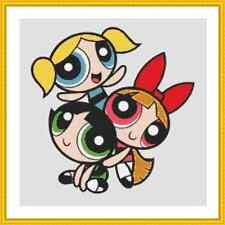 Powerpuff Girls Cross Stitch Kit
