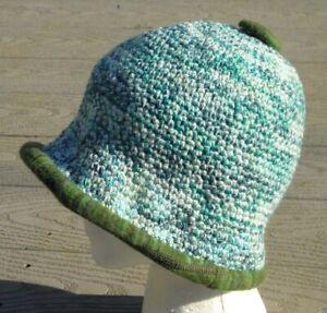Heavenly Blue Pastel Colors Smaller Size Cloche - Handmade by Michaela