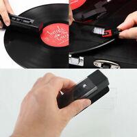 Vinyl Record Cleaning Brush Set Stylus Velvet Anti-static Cleaner Kit Tool 2 IN1