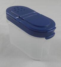 Tupperware A 90 Gewürzzwerg Gewürz Zwerg 120 ml Weiß Transparent / Blau Neu
