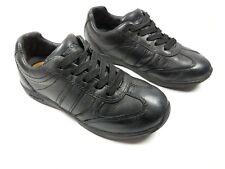 Geox Respira boys black leather school shoes uk 11.5 eu 30