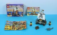 LEGO Vintage Classic Pirates Raft Raiders 6261 with Box and Instructions