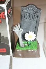 Horror Block Exclusive Gravestone Cell Phone Holder Stand Nerd Geek w/ Box