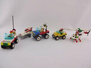 LEGO® City 6514 Trail Ranger, 6515 Stunt Copter, 6641 4-Wheelin' Truck, 6663 Wav