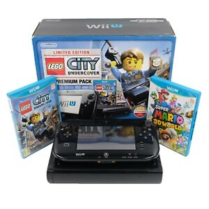 Nintendo Wii U Console - Lego City + Super Mario 3D World