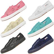 Superga 2750 macramew Women zapatos señora casual fashion cortos con punta