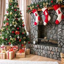 10x10FT Christmas Tree Twinkling Lights Background Studio Photography Photo Prop