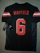 (2019-2020) Cleveland Browns BAKER MAYFIELD nfl Jersey YOUTH KIDS BOYS (m-medium