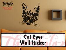 Cat Eyes Oversize Wall Vinyl Sticker