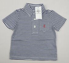 23a15fa1d433 Ralph Lauren Baby Boys  Striped Cotton Jersey Shirt Top Size 9 Month 9m  Cotton Fresco