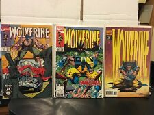 Marvel Wolverine # 47, 69, & 79 In NM+ Condition