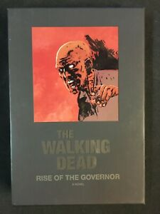 THE WALKING DEAD NOVEL RISE OF THE GOVEROR, SIGNED KIRKMAN  Fisherman collection