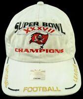 TAMPA BAY BUCCANEERS NFL Football HAT Beige SUPER BOWL XXXVII 37 Champions CAP