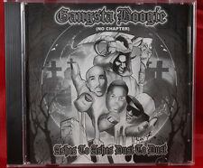 GANGSTA BOOGIE ASHES TO ASHES DUST TO DUST NO CHAPTER BY CHICAGO DJ MIXED NEW CD