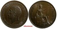 Great Britain George V (1910-1936) Bronze 1936 1/2 Penny LAST YEAR TYPE KM# 837