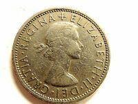 "1967 British Two (2) Shillings ""Elizabeth II"" Coin"