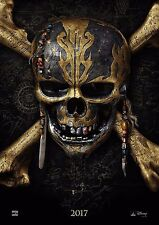Pirates of the Caribbean - A4 Glossy Poster - Film Movie Free Shipping #207
