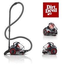 Dirt Devil DASH Multi Carpet & Hard Floor Canister Bagless Vacuum W/ Swipes NEW!