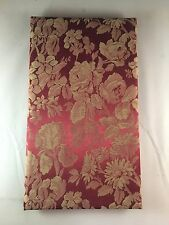 "Unbranded/Generic Red & Off-White Rose Floral 60-Photo 4x6"" Photo Album"