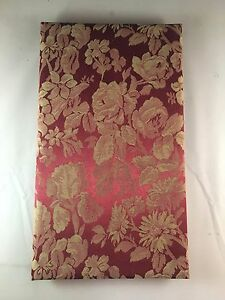 """Unbranded/Generic Red & Off-White Rose Floral 60-Photo 4x6"""" Photo Album"""