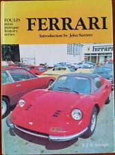 FERRARI, SETRIGHT, FOULIS MINI MARQUE SERIES, NEW 1976 CAR BOOK On Sale $47.95