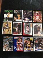 LOT OF 30 Superstar BASKETBALL CARDS Michael Jordan Kobe Shaq Bird + Bonuses