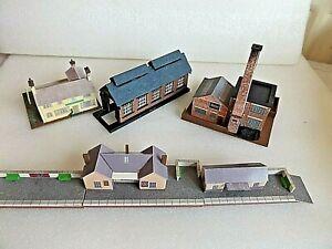 JOB LOT STATION,ENGINE SHED AND LINESIDE INDUSTRIAL BUILDINGS N GAUGE