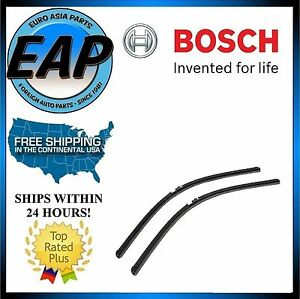 For Volkswagen Touareg Porsche Cayenne Windshield Wiper Blade Set NEW