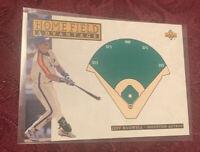 Jeff Bagwell 1994 Upper Deck Home Field Advantage Card # 272, Astros MLB HOF'er