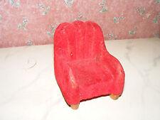 Alter Sessel-50er Jahre-Cafe-Wohnzimmer-Puppenstube-Puppenhaus-Kaufladen