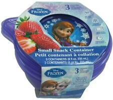 Disney Frozen Movie Anna Elsa Princess Lunch Small Snack Plastic Containers