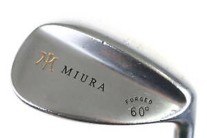 Miura Forged Series Lob Wedge 60° Right-Handed Steel #0048 Golf Club