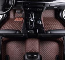 For  Honda  Civic 2006-2017 leather Car Floor Mats Waterproof Mat