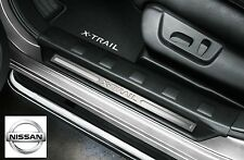 Nissan Genuine X-Trail Car Door Sill Strip Entry Guards Covers Front KE9673U500