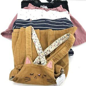 New Next Bundle x5 Girls' Age 1 1/2 - 2 Years Dungarees Skirt Top Dress 022429