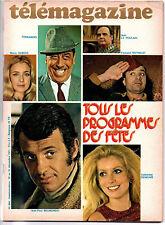 ▬►Télé Magazine 844/1971 BONNE ANNÉE CATHERINE DENEUVE_BELMONDO_MAURICE CLAVEL
