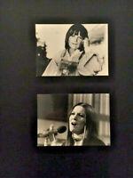 SANDIE SHAW 2x PRESSEFOTO aus 1970/80er Jahren ORIGINALE! 12,5x17,5cm