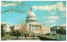 United States Capitol Washington D.C. Chrome Postcard Cond: Vg