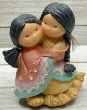 Collectible Friends Of The Feather Native American Figurine Gotta Have A Hug