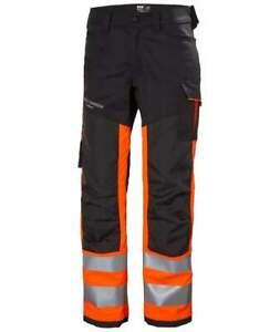 Helly Hansen Alna 2.0  Hi Viz Work Stretch Trousers Class 1-77420