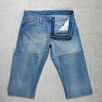 Mens LEVIS 504 Jeans Size W30 L31 Straight Leg Regular Fit Zip fly Stretch denim