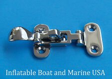 "Boat Locker Hatch Anti-Rattle Latch Fastener Clamp-4 3/8"" Marine Stainless Steel"