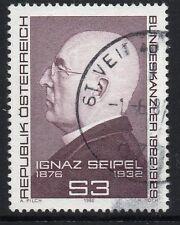 AUSTRIA SG1938 1982 IGNAZ SEIPEL(FEDERAL CHANCELLOR) FINE USED