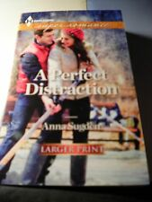 A Perfect Distraction by Anna Sugden (2013, Paperback, Large Type)